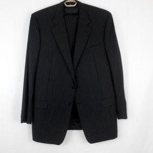 Hickey Freeman Bespoke 2 Piece Wool Suit E3